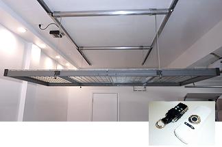 Store Your Stuff In The Rafters Attic Storage Organization Attic Storage Attic Remodel