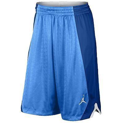 f8bbccee15093c Nike Jordan Flight Knit Short Mens 642240-412 Blue Basketball Shorts Size  2XL