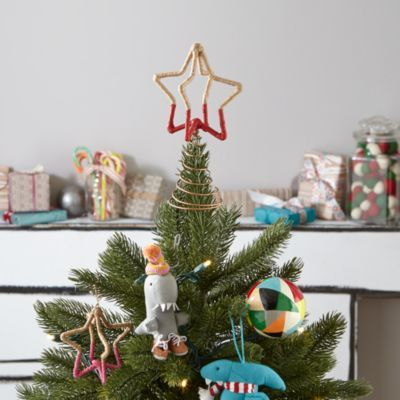 Star-Struck Tree Topper (Red) christmas decor Pinterest Tree