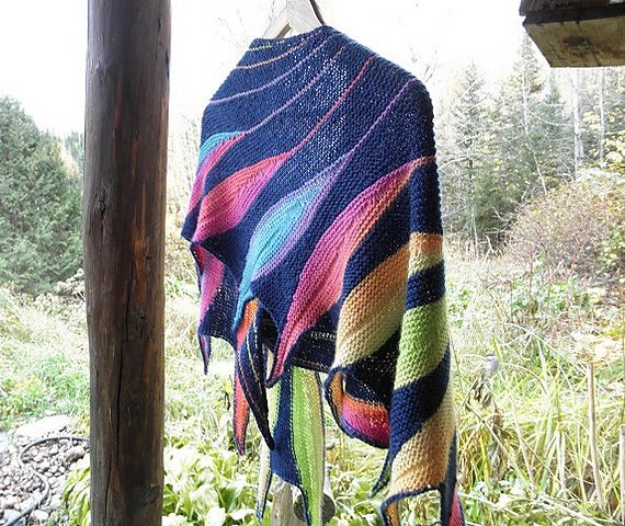 Dreambird KAL in Impromptu Lite | Crochet shawls and wraps ...