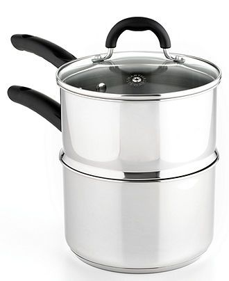 Martha Stewart Collection Stainless Steel Double Boiler 3