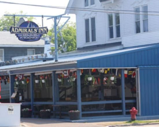 """Admiral's Inn, Alexandria Bay - I grew up at Mike's first """"restaurant,"""" The Dockside."""