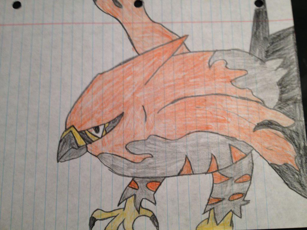 The Blazing Bird Talonflame by michaelthedragon39.deviantart.com on @deviantART