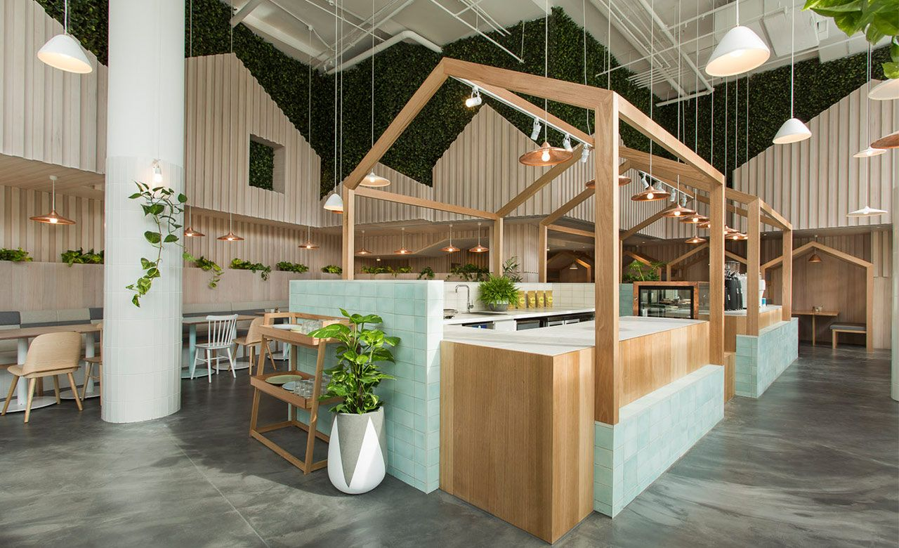 Kitty Burns Is Abbotsford's Pristine New Cafe | Concrete Playground  Melbourne  Australian ArchitectureArchitecture InteriorsKiosk DesignBooth  ...