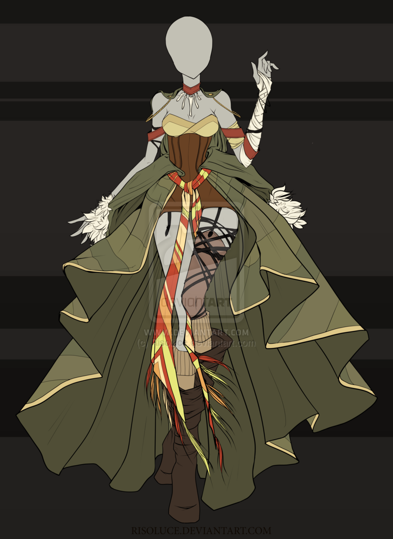 (CLOSED) Adoptable Outfit Auction 15 by Risoluce.deviantart.com on @DeviantArt