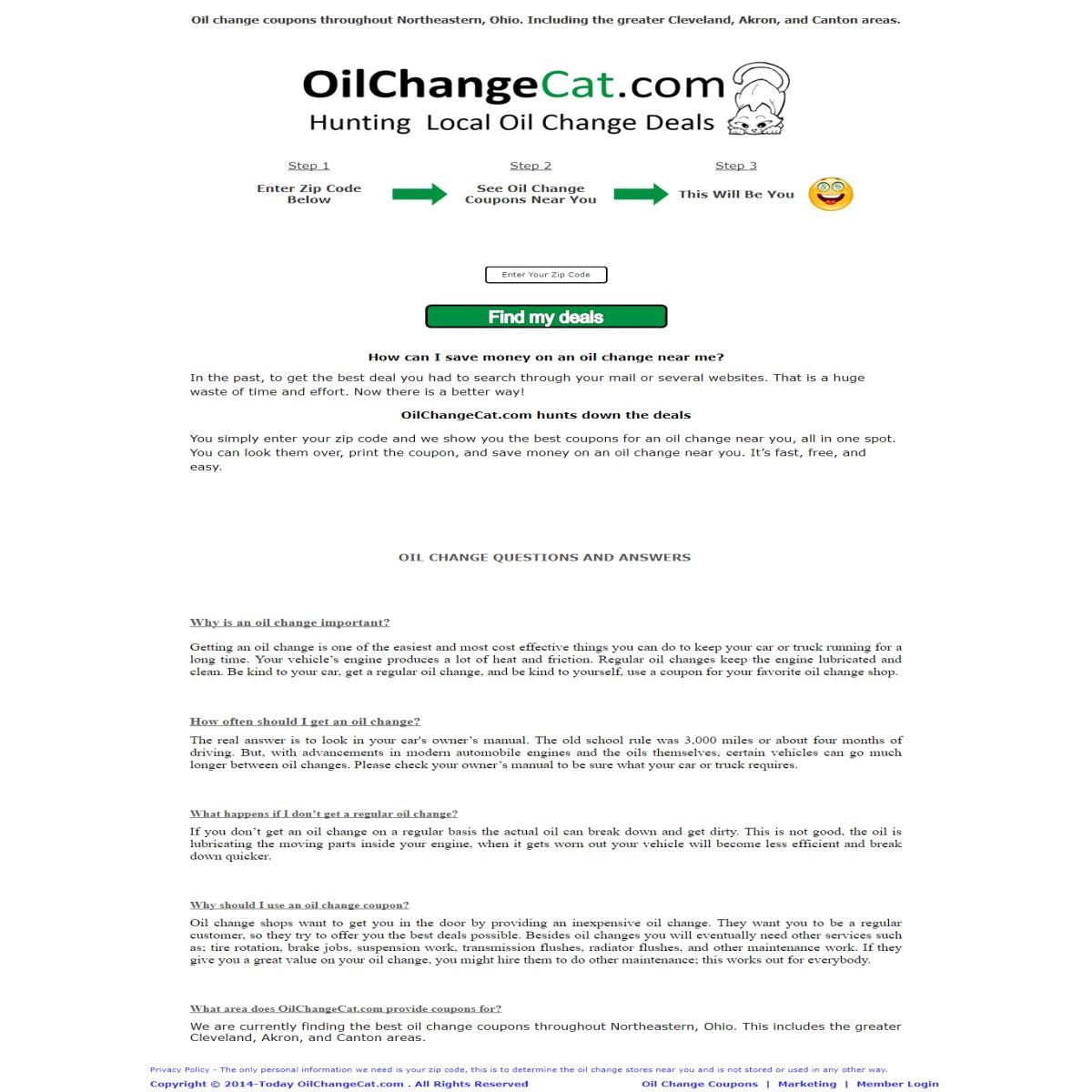 Oil change cat are currently finding the best oil change coupons oil change cat are currently finding the best oil change coupons throughout northeastern ohio you simply enter your zip code and they show you the best solutioingenieria Images