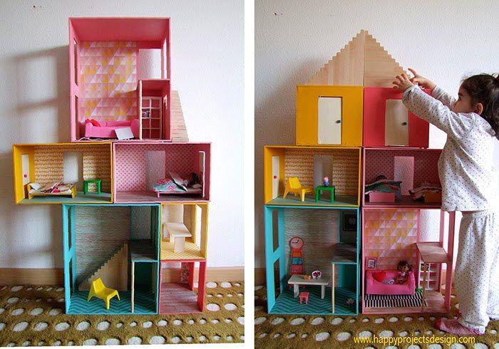 Rose Dollhouse À faire soi-même projet à construire