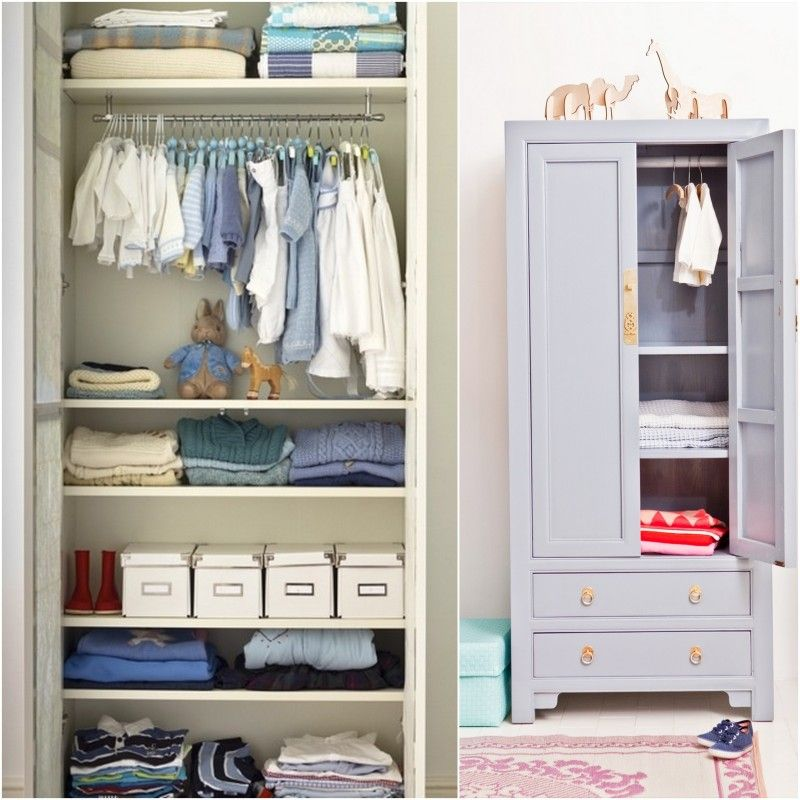 Childrenu0027s Armoire Closet, An Easy Storage Solution