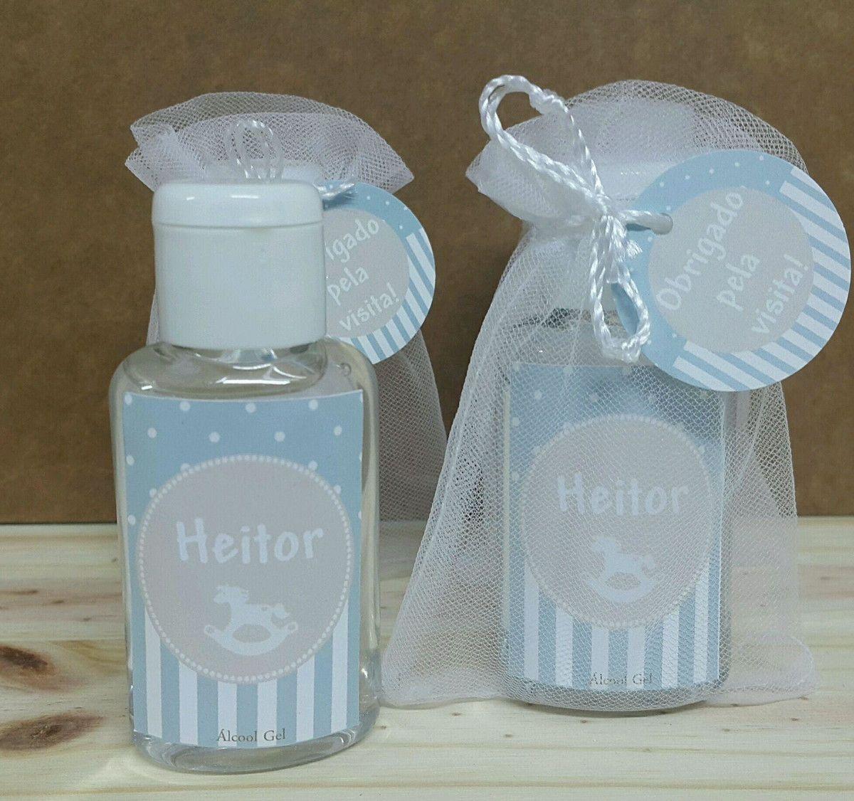 Alcool gel 30 ml. Acompanha etiqueta personalizada e tag de agradecimento.  Embalados em saquinhos b849645459
