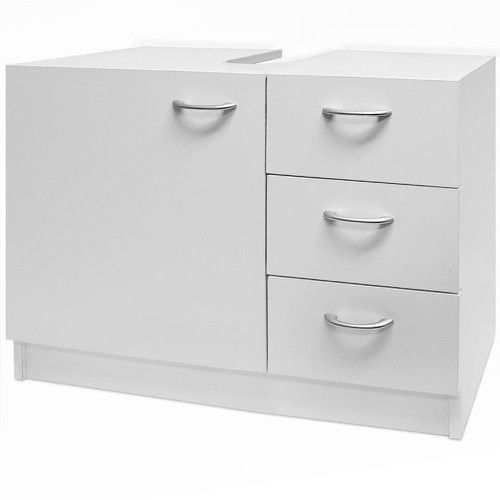 Bathroom Under Sink Cabinet 3 Drawers
