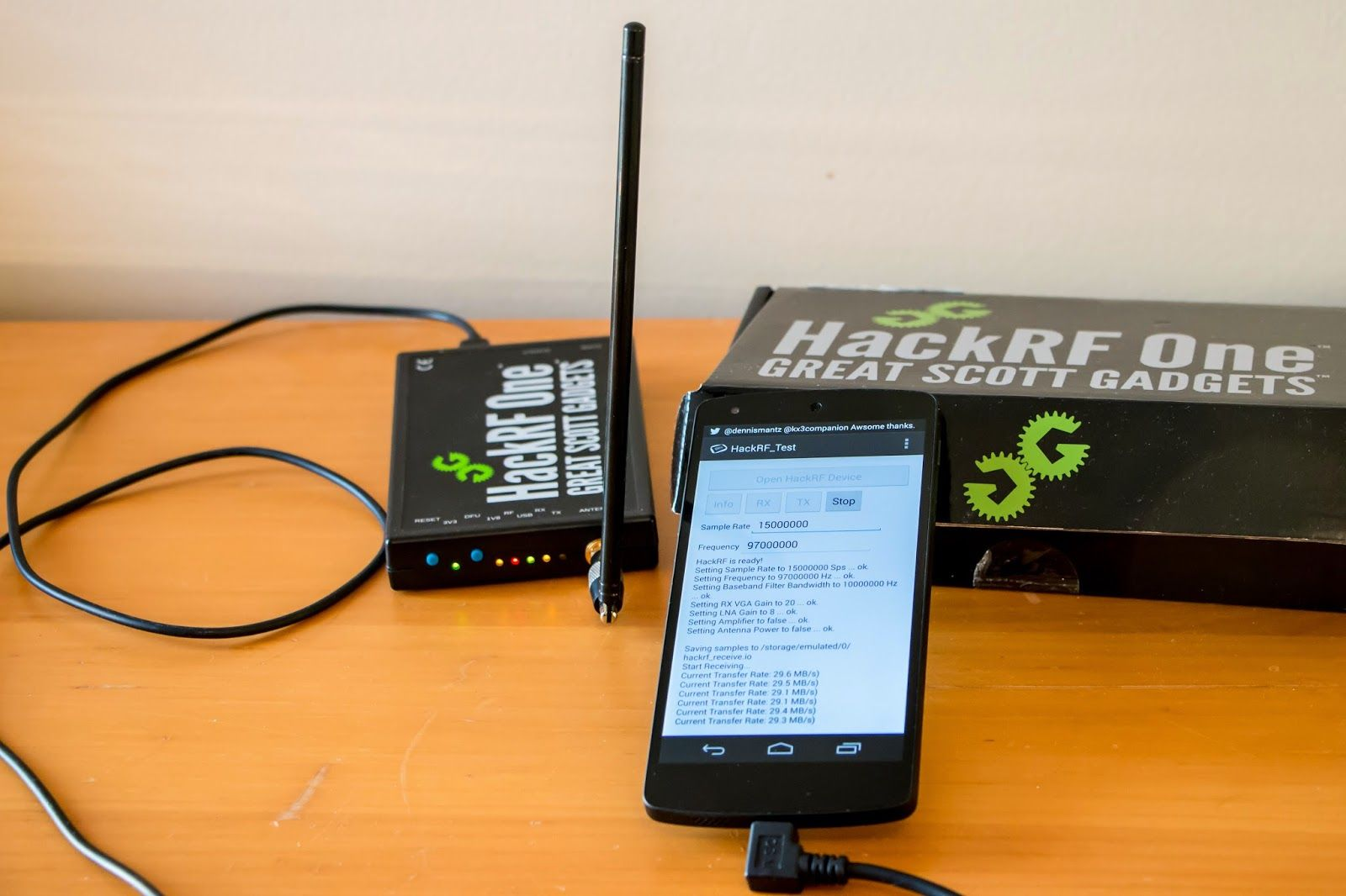 Mantz Tech Hackrf Android Using The With A Device Adafruit Kitbased Electronics Retailer And Promoter Of Hobbyist