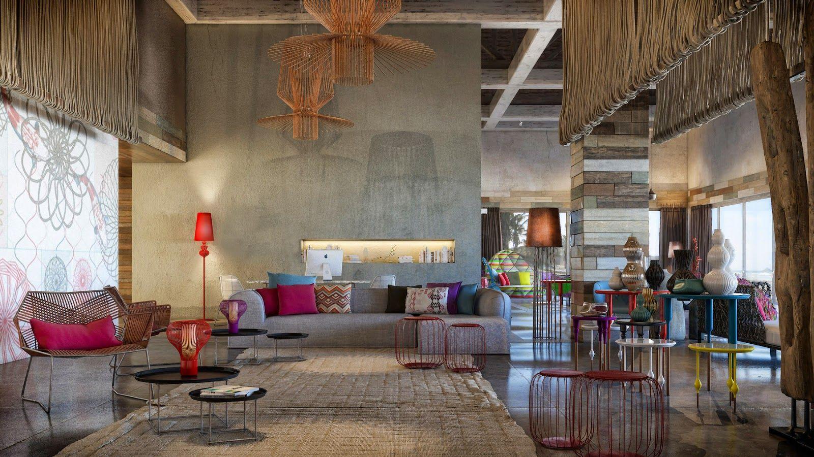 Deko Element Innenbereich, Einrichtungstrends, Puerto Rico, Bunte Möbel,  Tropische Möbel, Dinner Partys, Mein Haus, Weinberg, Holz