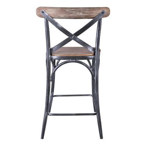 Armen Living Sloan Industrial Gray 26 Inch Counter Stool Lcslstsbpi26 Bellacor In 2021 Grey Bar Stools Industrial Barstools Bar Stools 26 inch metal bar stools