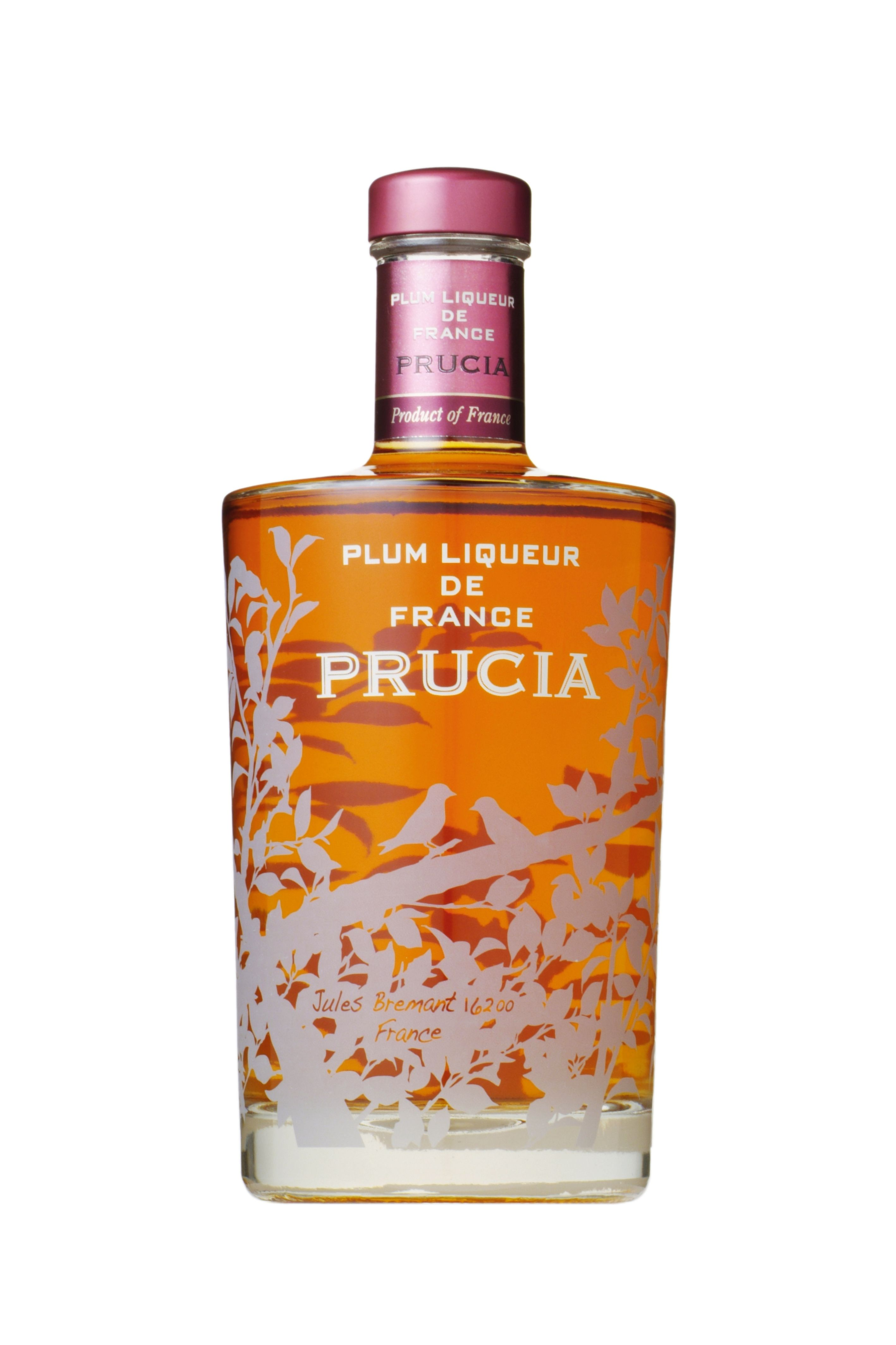 Prucia 70cl Plum Liqueur De France A Fusion Of Japanese And French Culture Matured To Perfection This Is A Harmonious Blend With The Plum Wine Liqueur Bottle