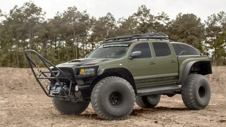 This Toyota Tacoma Set The World Record For Fastest Overland Journey To South Pole