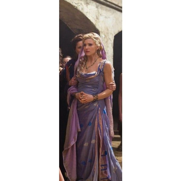 Spartacus SPARTACUS via Polyvore featuring medieval and medieval gown