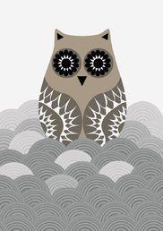 Pöllö-juliste