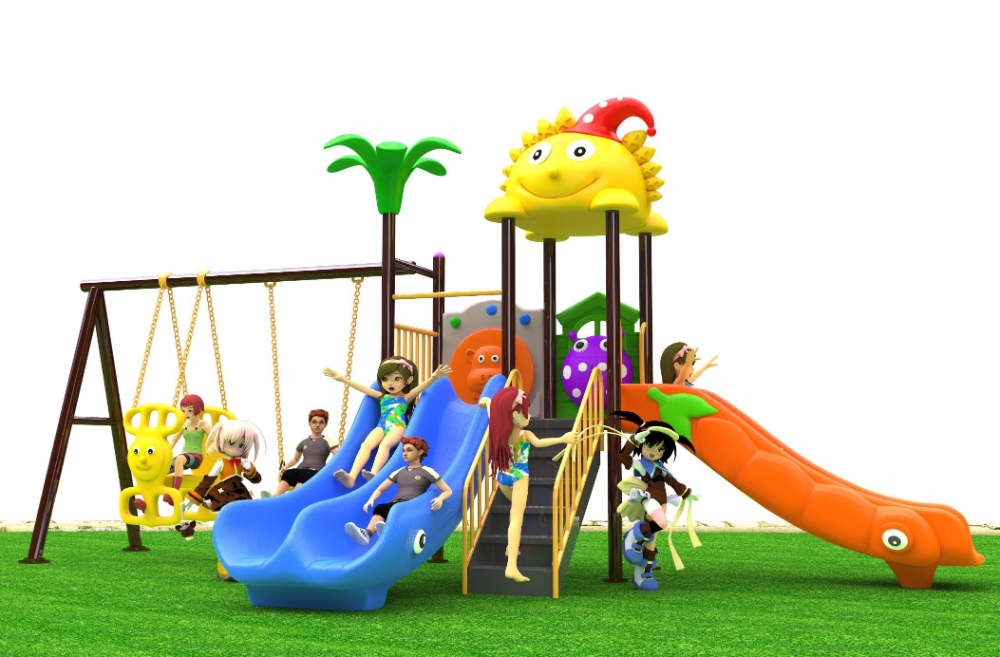 Beauty Flower Kids Theme Park/ Outdoor Children Play Areas
