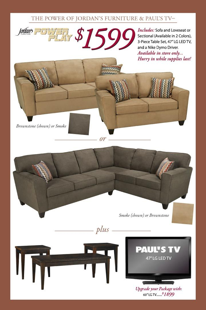 Jordanu0027s Furniture. 60 Inch ...
