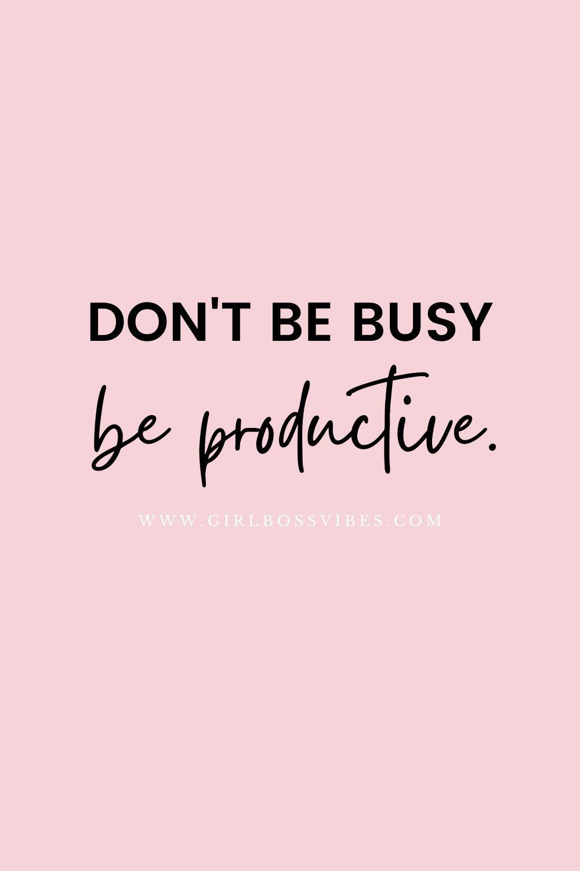 Girl Boss Business Motivation