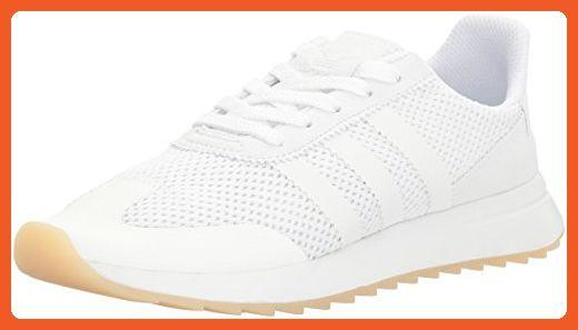 adidas originali donne flb w scarpa da corsa, bianco / bianco / bianche, 9 m