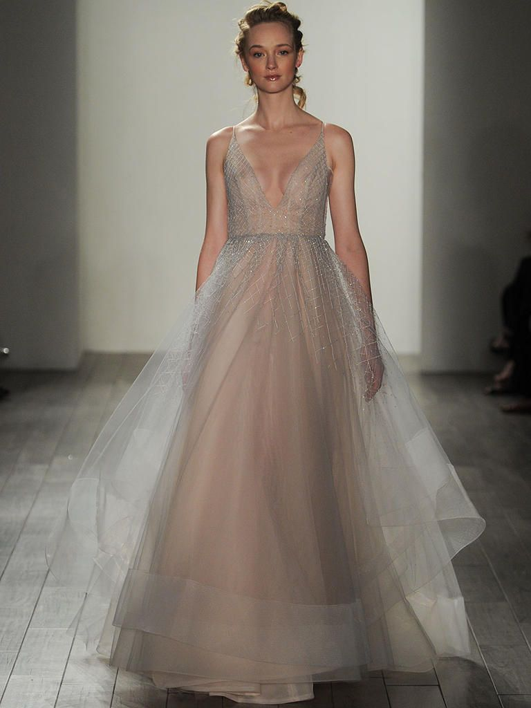 Lovely Laney gown by Hayley Paige Wedding Dress Justgotpaiged JLMCouture