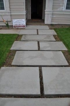Stepping Concrete Paver Design Ideas Pictures Remodel And Decor