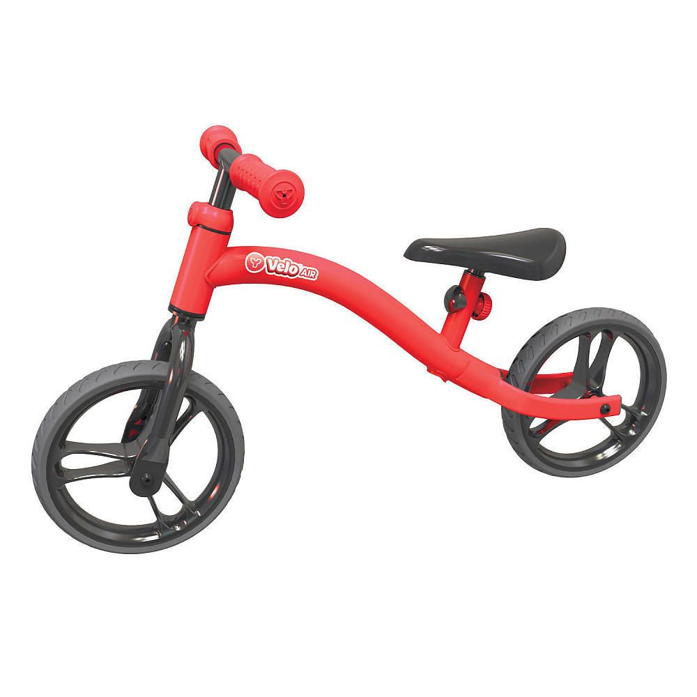 Yvolution Y Velo Air Balance Bike Red With Images Balance Bike