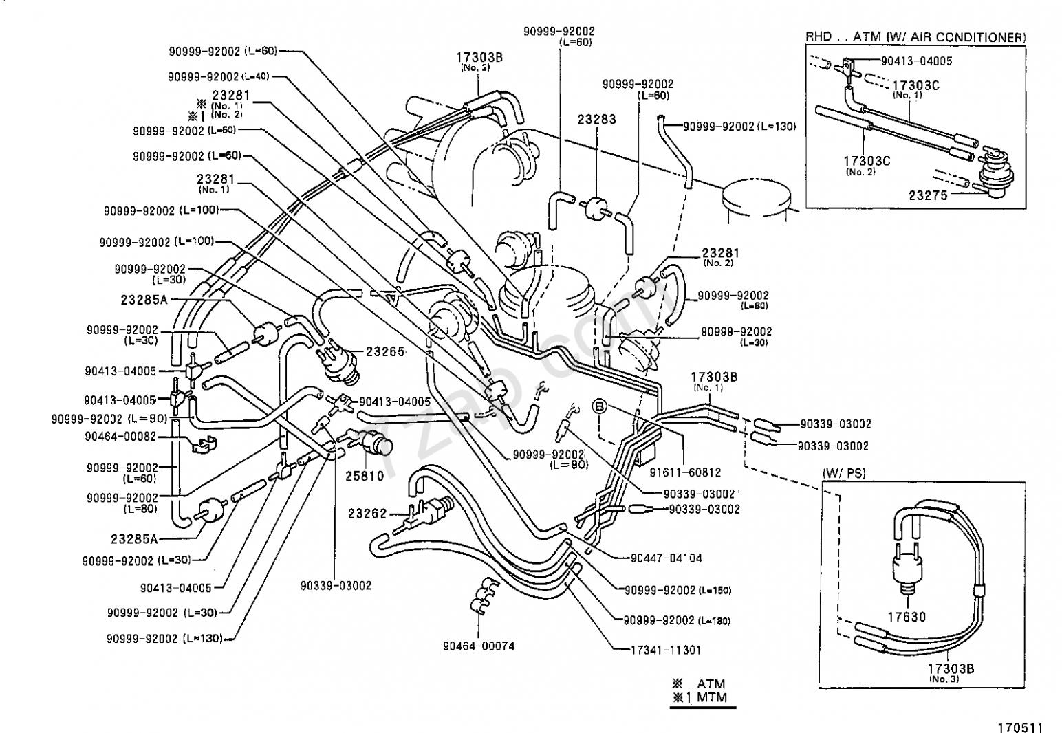 Toyota Corolla 7e Engine Vacuum Diagram Toyota Corolla Diagram Toyota