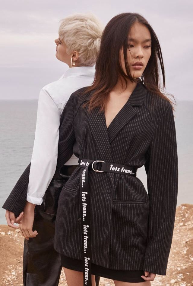 853938036d93 iets frans… Slogan D-Ring Belt in 2019   slogan accessories   Blazer ...