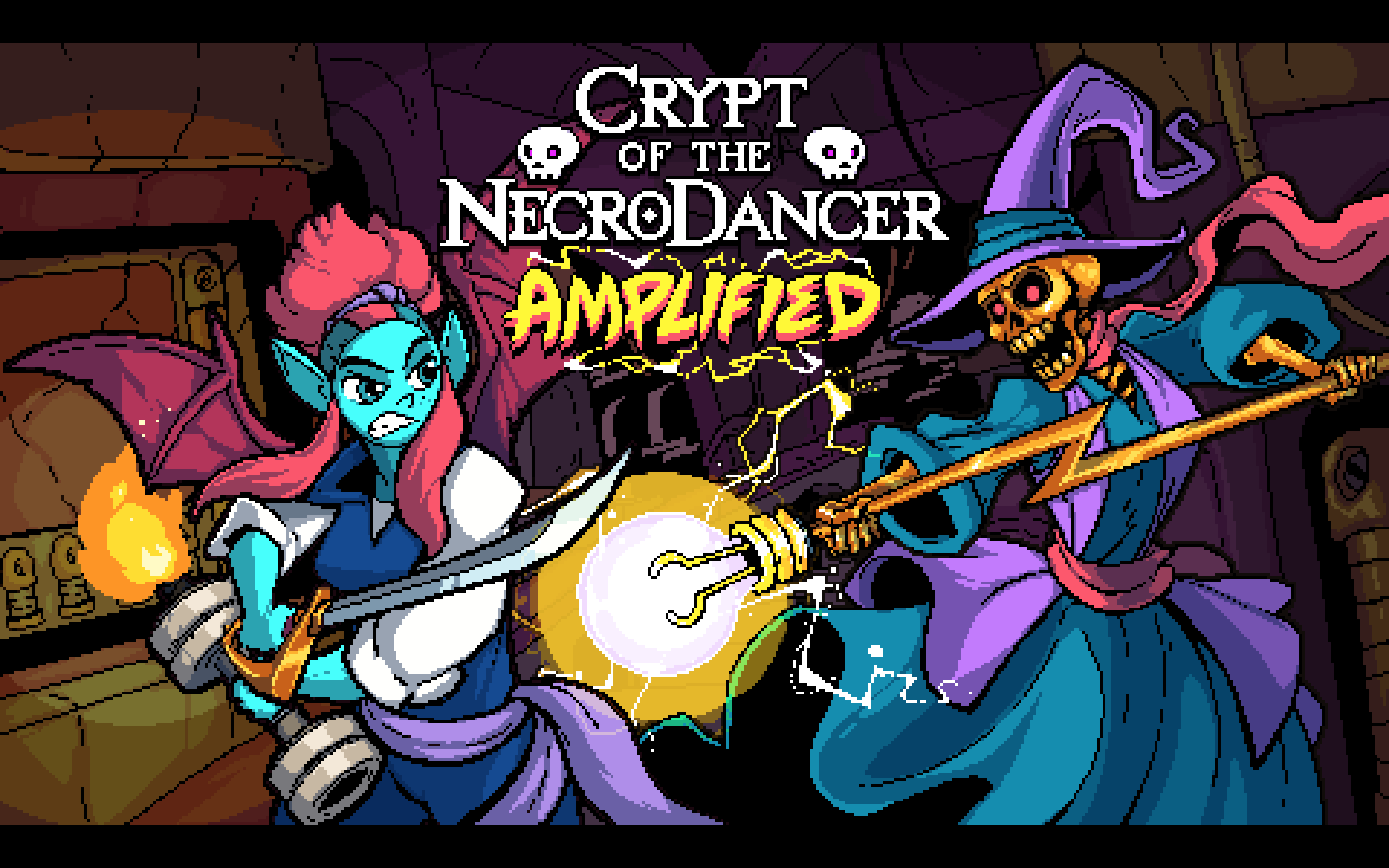 Crypt Of The Necrodancer Crypt Of The Necrodancer Hd Wallpaper