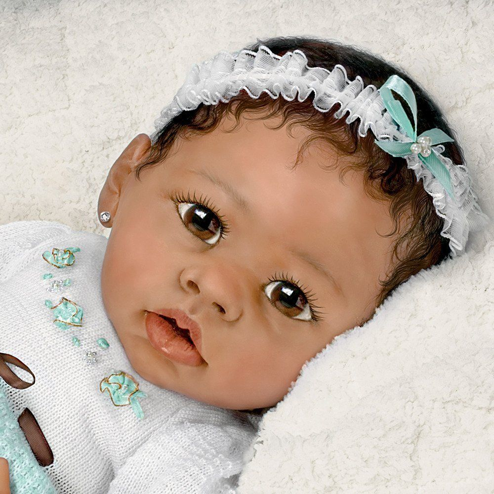 Alicia's Gentle Touch Realistic Interactive Baby Doll by
