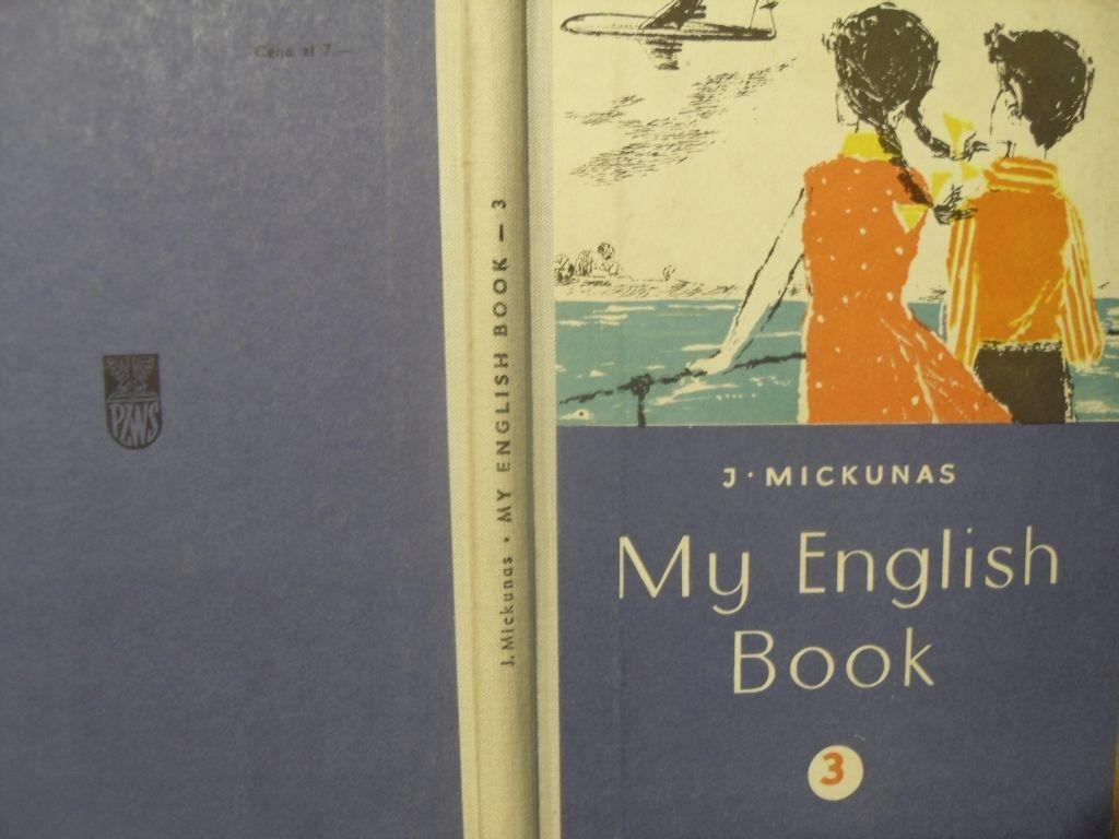 My English Book Nauka Angielskiego Prl Podreczniki 7134841802 Oficjalne Archiwum Allegro English Book Books Book Cover