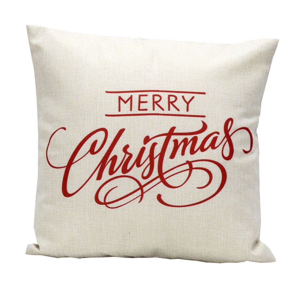 happy letter christmas pillow festival vintage selling on hot pillows case home sale present pin bed