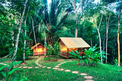 Ecotourism Vacation in Lodge at Chaa Creek, Belize. Belize has it all: ruins, beaches, jungles, caves & rainforest.