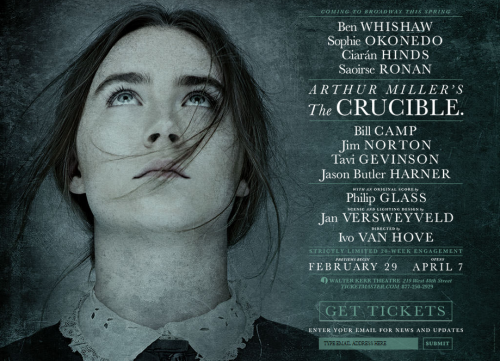 The crucible poster walter kerr theatre google search ben whishaw fandeluxe Images