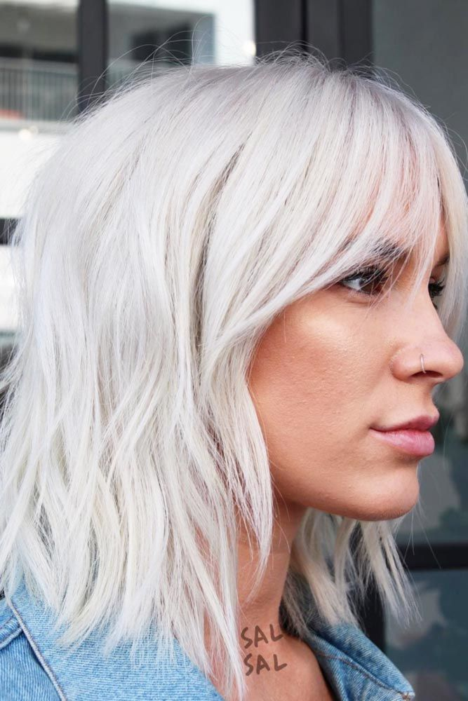 24 Short Hairstyles With Bangs for Glam Girls   LoveHairStyles