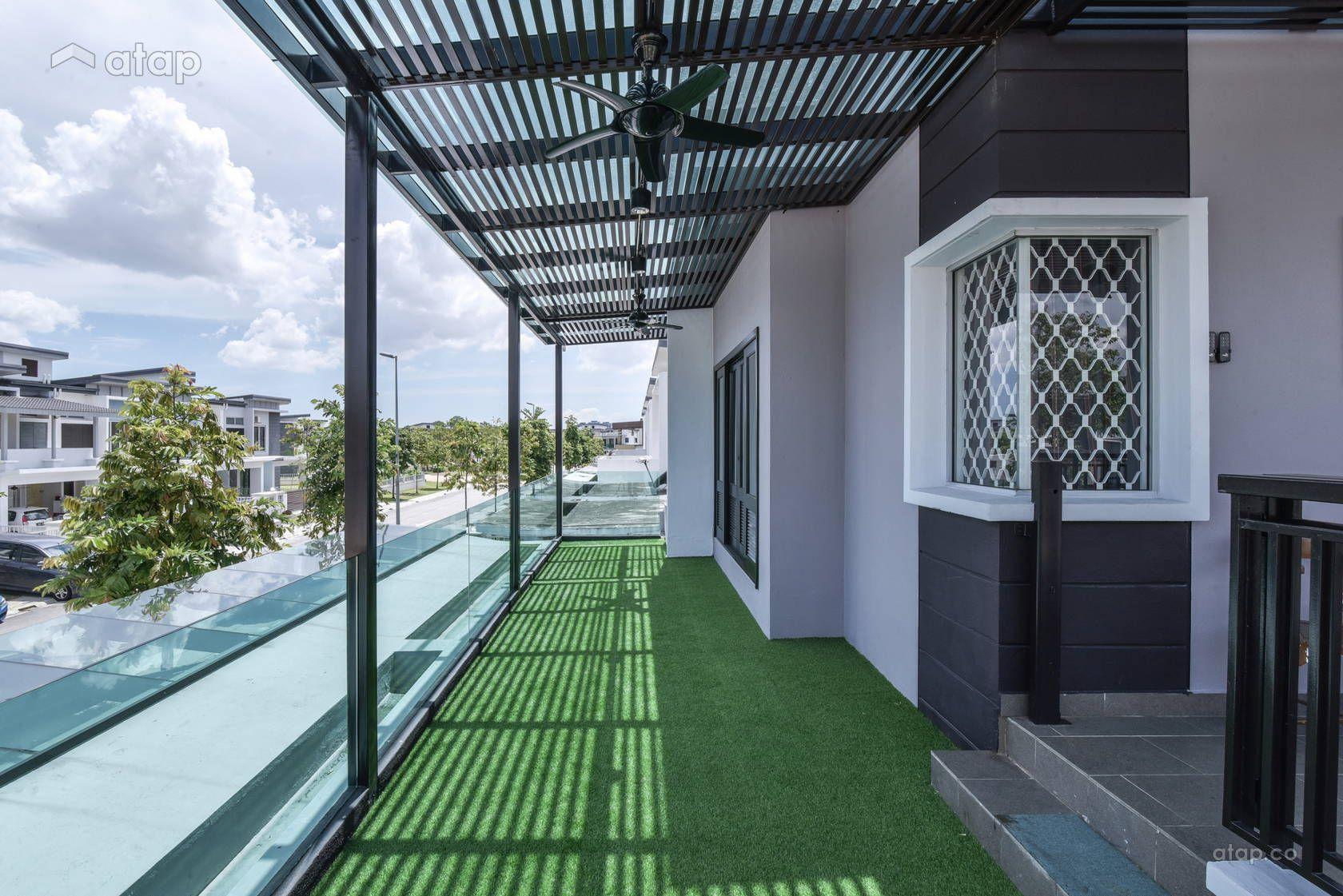 Classic Vintage Balcony terrace design ideas & photos Malaysia