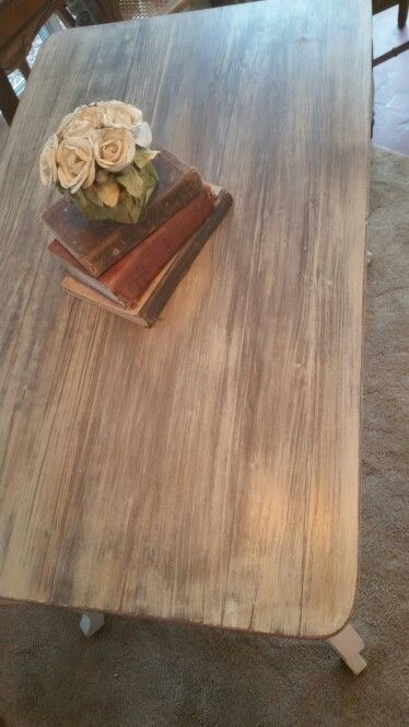 Desk top with a Restoration Hardware look using Annie Sloan chalk ...