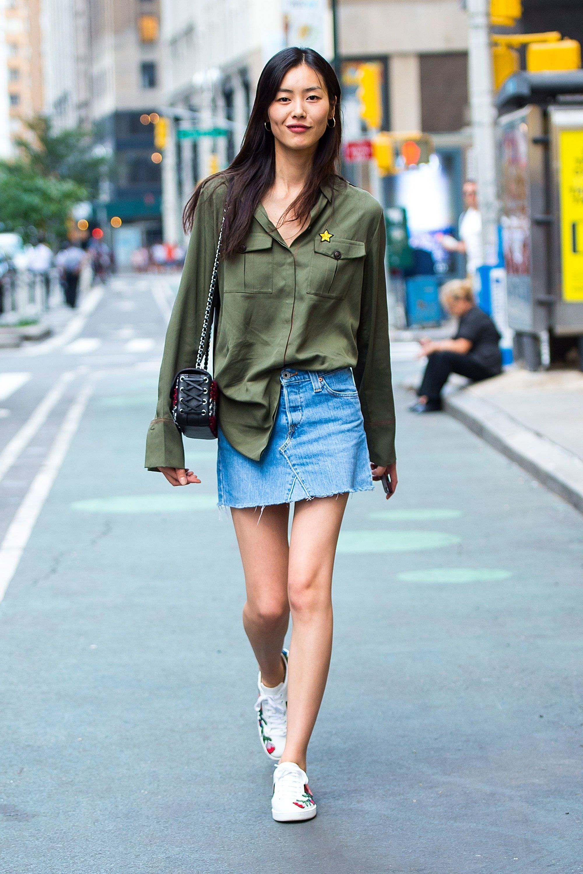 The Victoria S Secret Casting Is A Street Style Paradise Nyc Looks