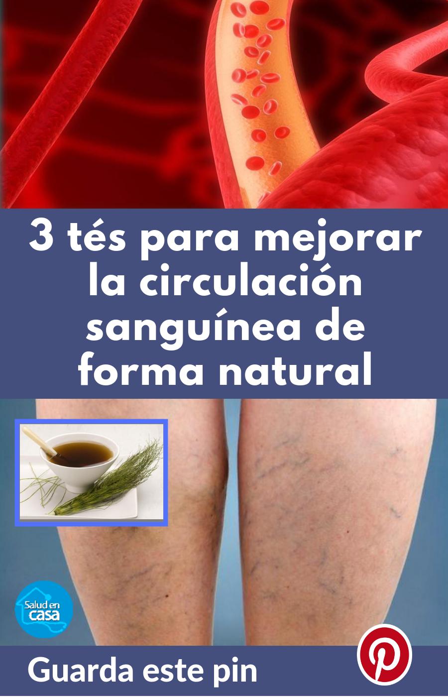 Remedios para la circulacion sanguinea