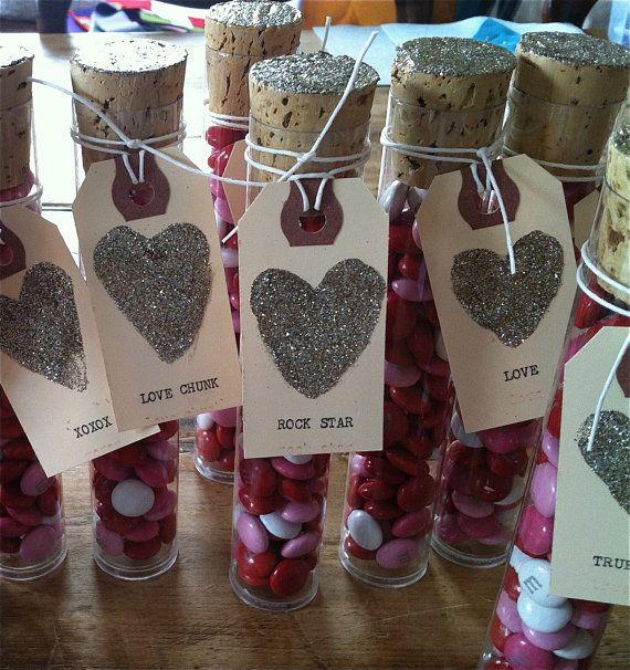 Valentine Candy Tower. $5.00, via Etsy.