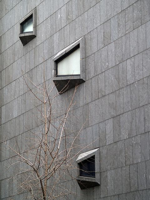 Whitney Museum of American Art, NYC, Marcel Breuer, 1966