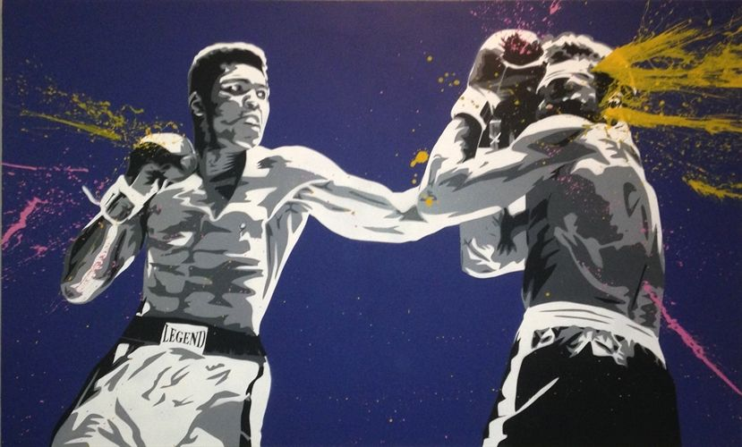Muhammad Ali (Life is Wonderful) by Mr. Brainwash on artnet Auctions