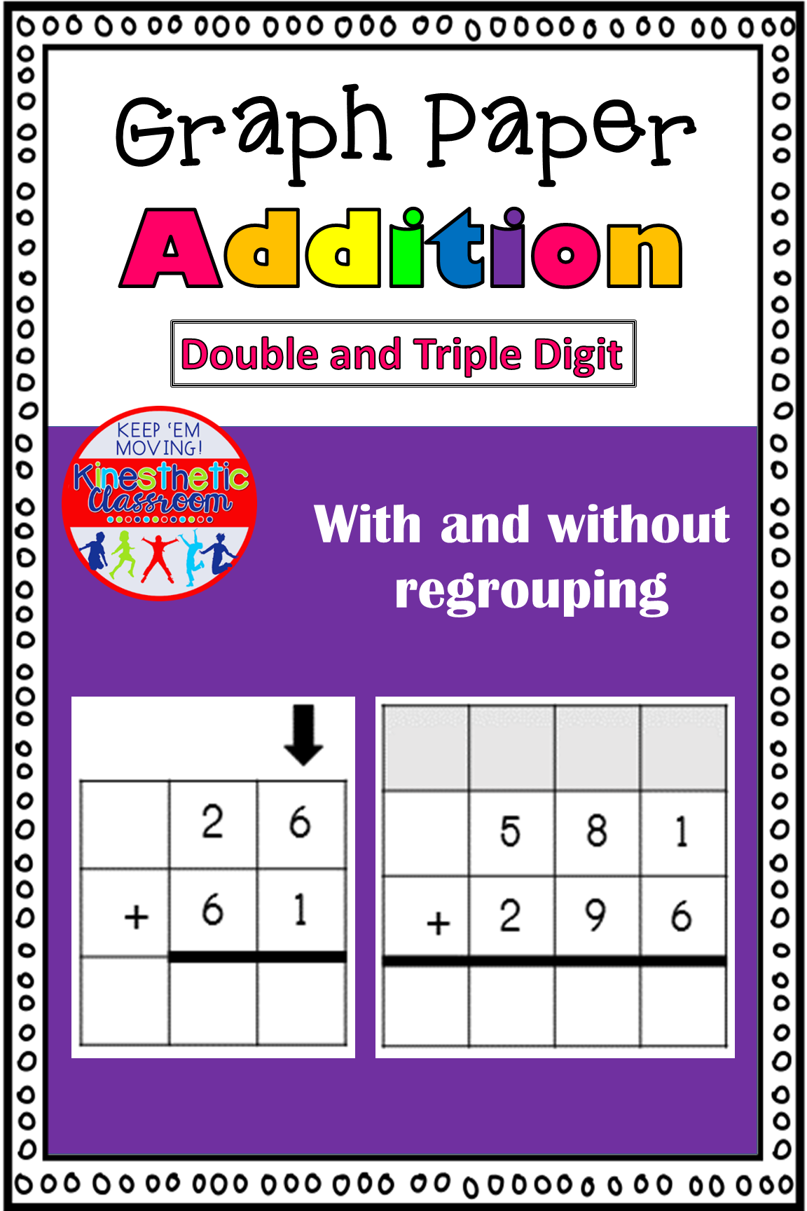 Double And Triple Digit Addition Worksheets