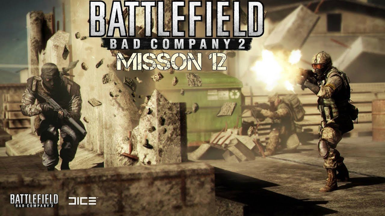 Battlefield Bad Company 2 Gameplay Mission 12 Force Multiplier