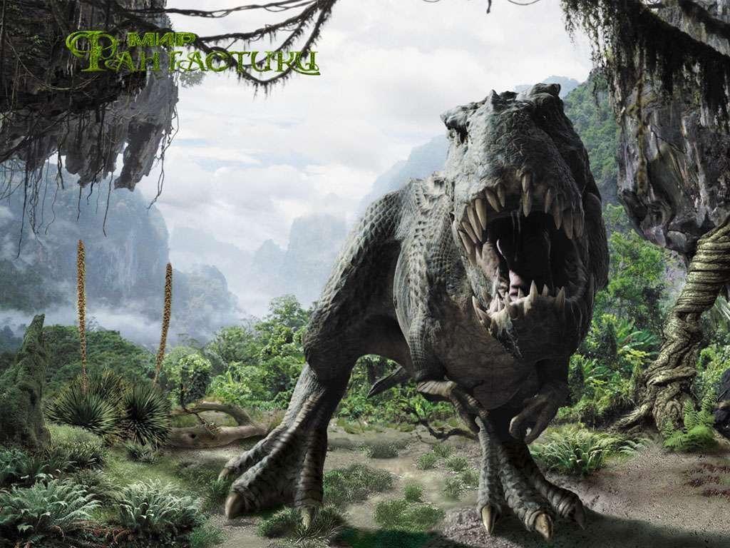 Download Dinosaurs Dinosaur Forest Wallpaper 1024x768 Full Hd Animals Forest Wallpaper Jurassic Park