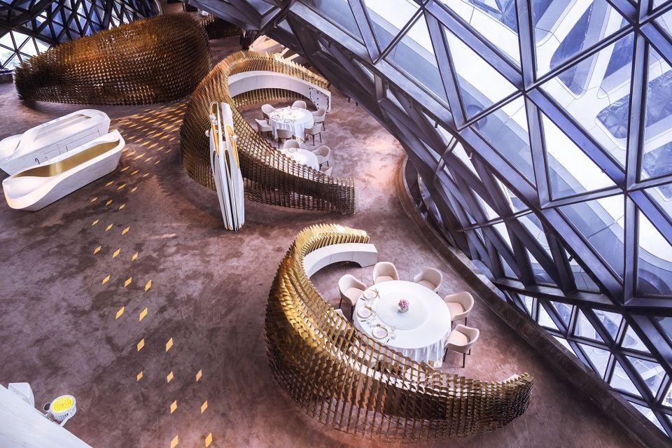 Morpheus酒店用餐空间,澳门 / UAP + Zaha Hadid Architects - 谷德设计 - exklusive moderne residenz kunstlerischem flair