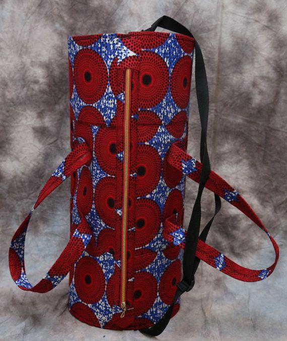 6c9a22c75082 African print duffle Travel bag by HouseOfIzzi