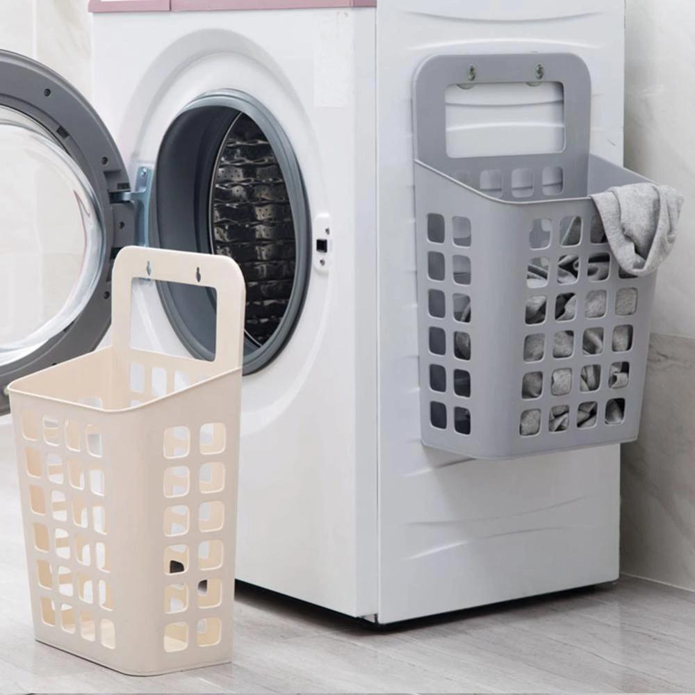Folding Wall Hanging Hamper Storage Basket In 2020 Diy Laundry